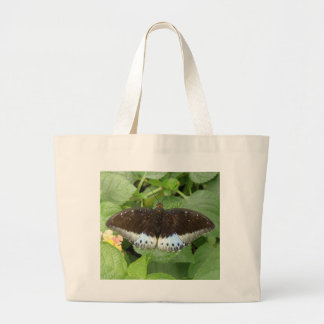 La bolsa de asas tropical bonita de la mariposa