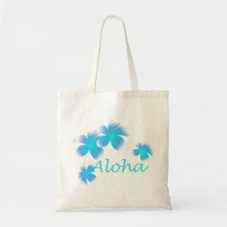 La bolsa de asas tropical hawaiana de la aguamarin