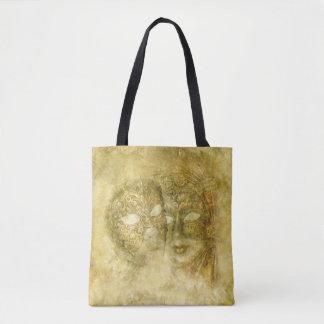 La bolsa de asas veneciana de la impresión de las