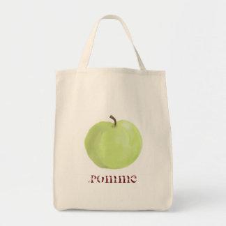La bolsa de asas verde de Apple
