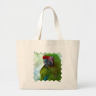 La bolsa de asas verde de la lona de Conure de la