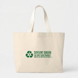 La bolsa de asas verde de Soylent