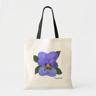 La bolsa de asas violeta