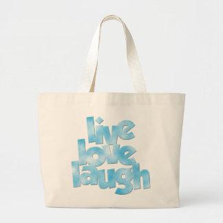 La bolsa de asas viva de la risa del amor