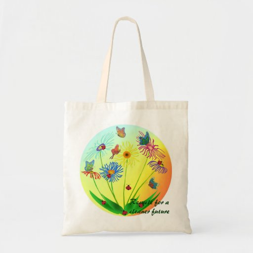 La bolsa de asas y recicla