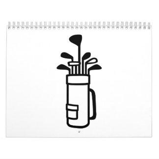 La bolsa de golf calendario