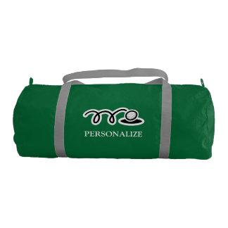 La bolsa de golf verde personalizada para el bolsa de deporte