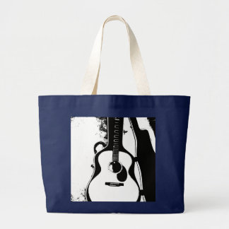 La bolsa de libros de la guitarra acústica
