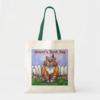 La bolsa de libros del gato del jengibre