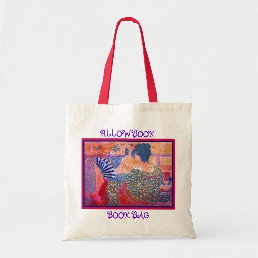 La bolsa de libros del libro de la almohada por S