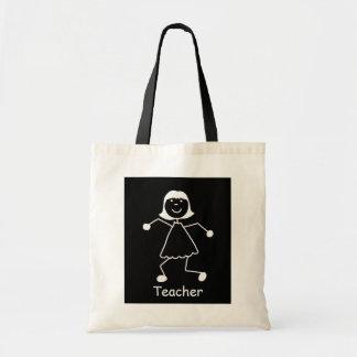 La bolsa de libros del profesor personalizado