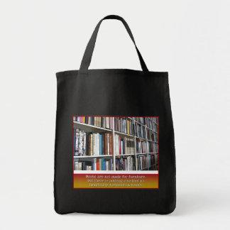 La bolsa de libros del ratón de biblioteca