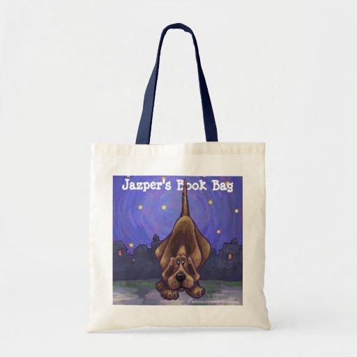 La bolsa de libros personal del perro de caza lind