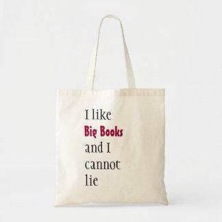 ¡La bolsa de libros!  Sostiene porciones de materi