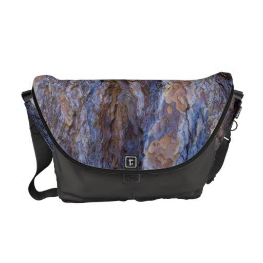 La bolsa de mensajero 1 de la corteza del pino bolsa de mensajeria