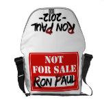 La bolsa de mensajero 2012 de Ron Paul Bolsas De Mensajería