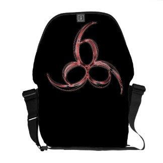 La bolsa de mensajero 666 bolsa de mensajería