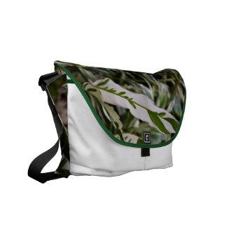 La bolsa de mensajero abigarrada del jengibre bolsas messenger
