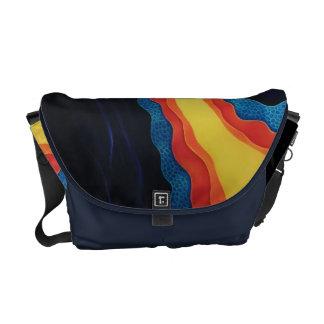 La bolsa de mensajero abstracta bolsa de mensajería