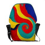 La bolsa de mensajero abstracta bolsas de mensajeria