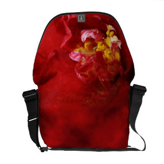 La bolsa de mensajero abstracta del camelia bolsas de mensajería