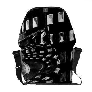 La bolsa de mensajero abstracta del detalle del co bolsa de mensajería