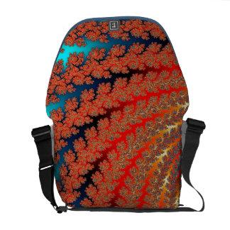 La bolsa de mensajero abstracta magnífica bolsa de mensajería