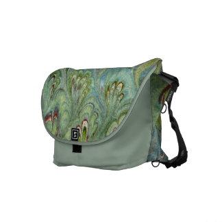 La bolsa de mensajero abstracta veteada florentina bolsas messenger