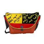 La bolsa de mensajero alemana de la bandera bolsas messenger