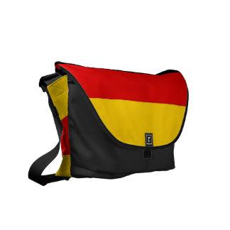 La bolsa de mensajero alemana del carrito de la ba bolsas de mensajería
