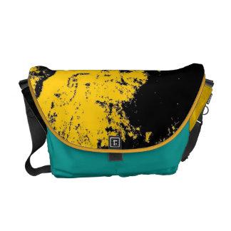 La bolsa de mensajero amarilla de Buda del trullo Bolsa De Mensajeria