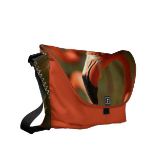 La bolsa de mensajero americana del flamenco bolsa de mensajería
