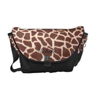 La bolsa de mensajero animal del modelo de la jira bolsa de mensajería