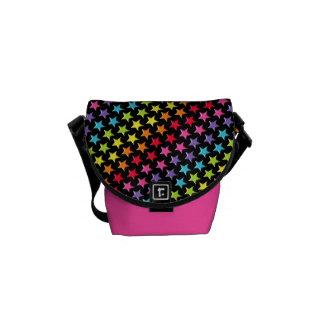La bolsa de mensajero - arco iris todas las bolsas de mensajería