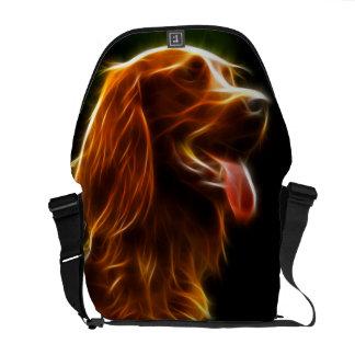 La bolsa de mensajero asombrosa del retrato del pe bolsa de mensajeria