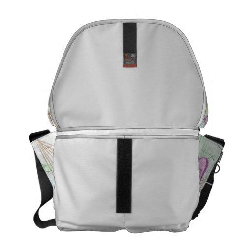 La bolsa de mensajero atractiva del conejito bolsas de mensajería