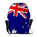 La bolsa de mensajero australiana de la bandera bolsas de mensajeria