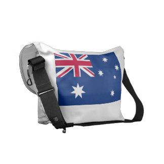 La bolsa de mensajero australiana de la bandera na bolsa de mensajería