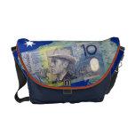 La bolsa de mensajero australiana del dinero bolsa de mensajería