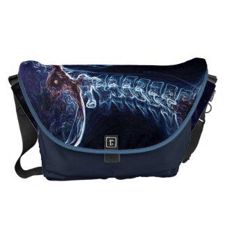 La bolsa de mensajero azul de la C-espina dorsal ( Bolsas Messenger