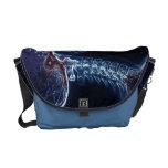 La bolsa de mensajero azul de la C-espina dorsal ( Bolsas De Mensajería