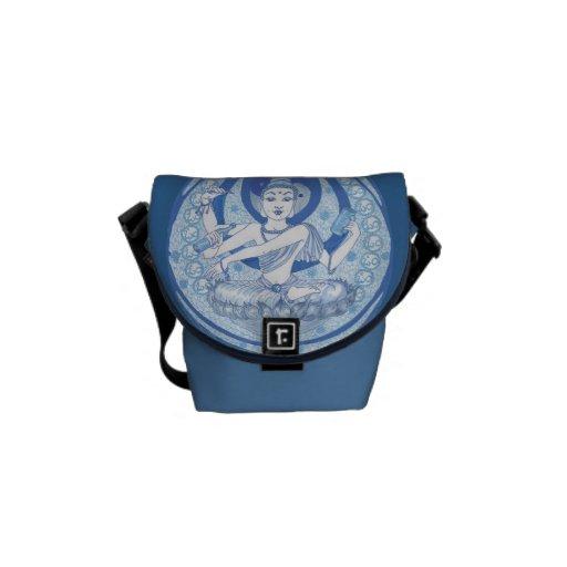 La bolsa de mensajero azul del Brew del Bodhisattv Bolsa De Mensajería