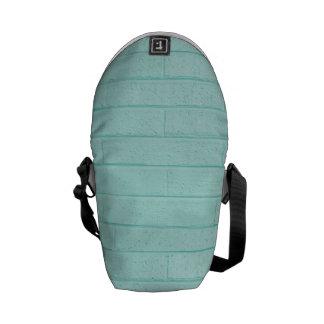 La bolsa de mensajero azul del ladrillo del huevo bolsas messenger