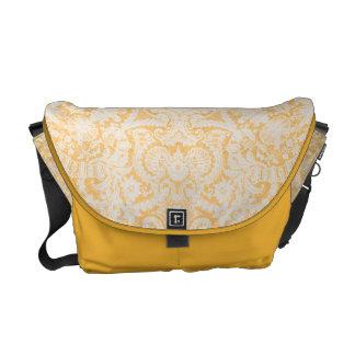 La bolsa de mensajero barroca elegante del carrito bolsas de mensajeria
