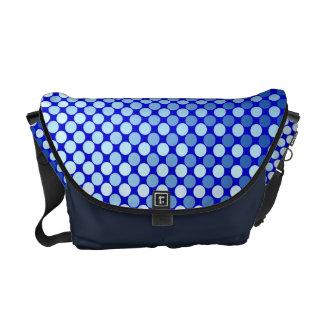 La bolsa de mensajero brillante del cielo azul bolsas messenger