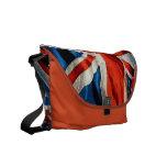 La bolsa de mensajero británica de Union Jack de l Bolsa De Mensajería