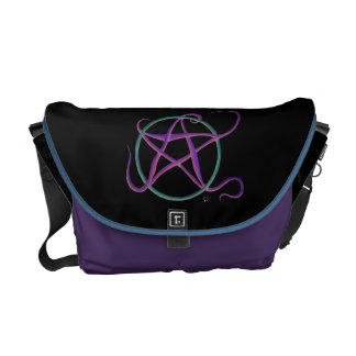 La bolsa de mensajero caprichosa del pentáculo del bolsa messenger