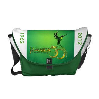 La bolsa de mensajero - celebración de Jamaica Bolsas De Mensajería