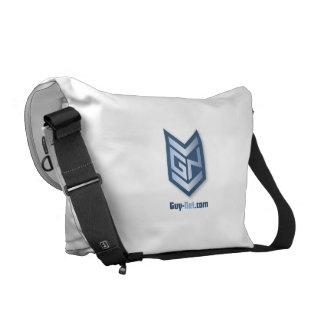 La bolsa de mensajero cero grande del carrito de G Bolsa Messenger