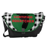 La bolsa de mensajero certificada de Squatcher Bolsas Messenger